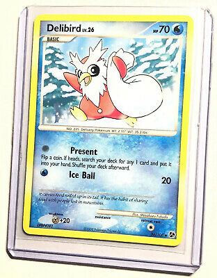 DELIBIRD - 36/106 - Great Encounters - Uncommon - Pokemon Card - NM