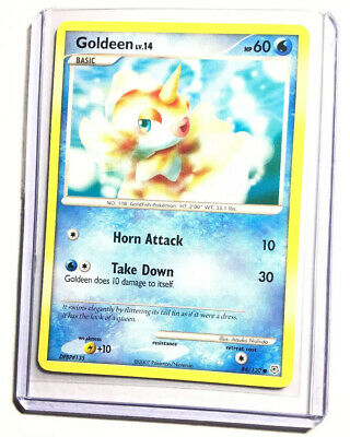 GOLDEEN - 84/130 - Diamond & Pearl - Common - Pokemon Card - NM