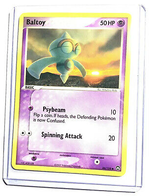 BALTOY - 44/108 - EX Power Keepers - Common - Pokemon Card - NM