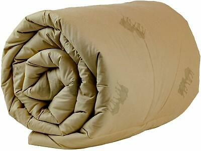 Healthyline Camel Wool Filled Winter Comforter, Extra Weight – 450 Gsm In 100% D
