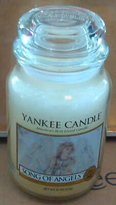 Yankee Candle Song Of Angels Large 22 Oz. Jar Rare Deerfield Exclusive New