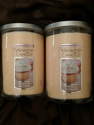 Yankee Candle 22 Oz Large Vanilla Cupcake Two Wick Tumbler Set Of Two