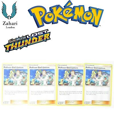 Pokemon Sun & Moon Lost Thunder Play-Set Trainer Supporter Single Cards!