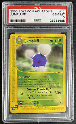 2003 Pokemon Aquapolis #17 Jumpluff Psa 10 Gem Mint