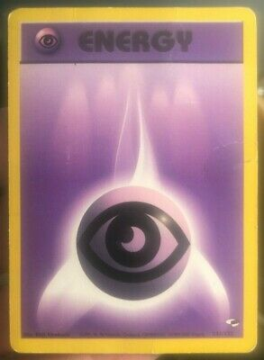 Psychic Energy Gym Heroes/Gym Challenge Set Two Cards Pokemon 131/132