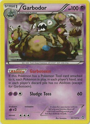 1x Garbodor - 54/124 - Holo Rare NM-Mint Pokemon BW - Dragons Exalted