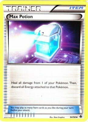 1x Max Potion - 94/98 - Uncommon Lightly Played Pokemon BW - Emerging Powers