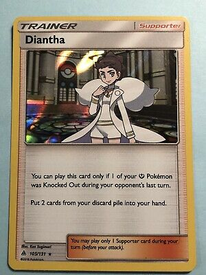 Pokemon Card SM FORBIDDEN LIGHT DIANTHA 105/131 RARE HOLO Foil FREE Shipping