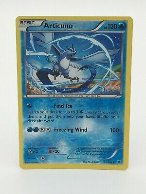 Pokemon Card- Articuno 16/108- Reverse Holo- Roaring Skies- NM Condition