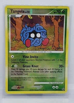 Pokemon Card Tangela LV.12 Great Encounters 87/106 EX/NM Reverse Holo Common TCG