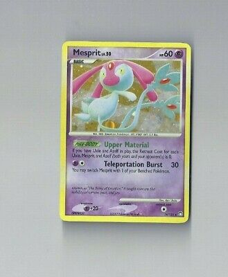 Pokemon 2007 Mesprit Holo Mysterious Treasures 14/123 NM or better !