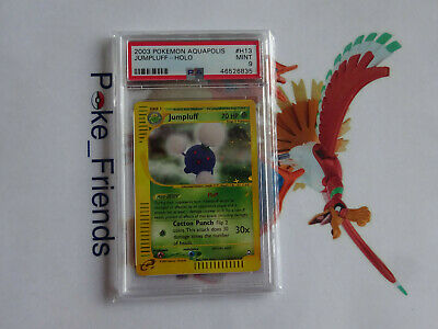 Pokemon Jumpluff Holo H13 Aquapolis e-Reader PSA 9 WOTC