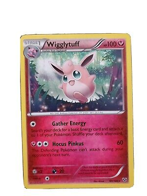 Wigglytuff XY Base Set Pokemon Card Rare Mint Condition 89/146