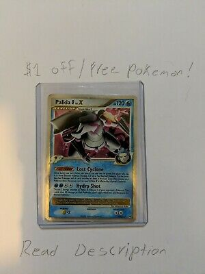 Palkia G Lv.X 125/127 Holo Platinum Pokemon Card NM!!