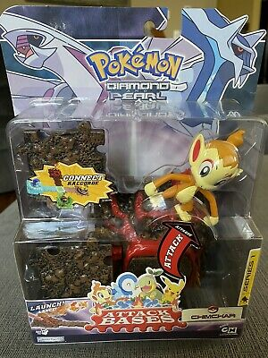 NEW Pokemon Diamond and Pearl Chimchar Series 1  Attack Base Connect Raccorde