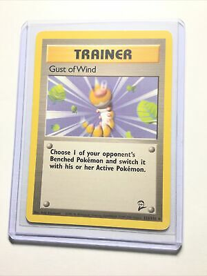 GUST OF WIND - Base Set 2 - 120/130 - Common - Pokemon Card - Unlimited Ed NM
