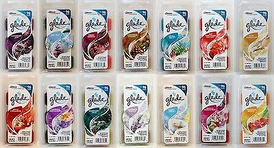 8 Glade Wax Melts Scent Selection 768 Hours (48 Wax Melt) Fragrance Per Order ❤♫
