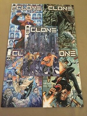 Clone #1 2 3 4 5 1st Print All Nm+ Image Comics Skybound Robert Kirkman Movie