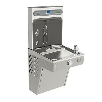 Elkay Lvrcgrn8wsk Filtered Water Cooler W/ezh2o Bottle Filler, Stainless Steel
