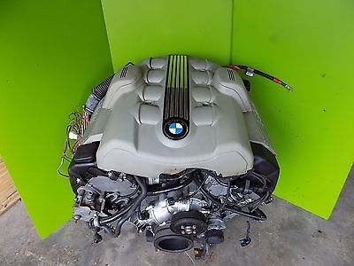 04 05 Bmw E60 545 645 745 4.4l V8 Complete Engine + Harness + Covers Oem