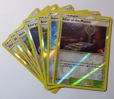 GUARDIANS RISING - Reverse Holo Pokemon TRAINER Cards (Select your card)