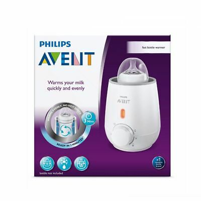 Philips Avent Fast Bottle Warmer | Ready In 3 Minutes | Scf355 1 2 3 6 12 Packs