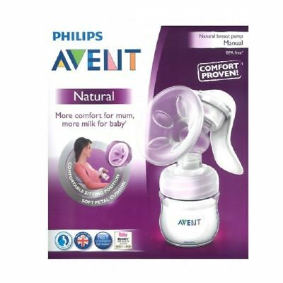 Philips Avent Natural Breast Pump Manual With Bottle & Teat 1 2 3 6 12 Packs