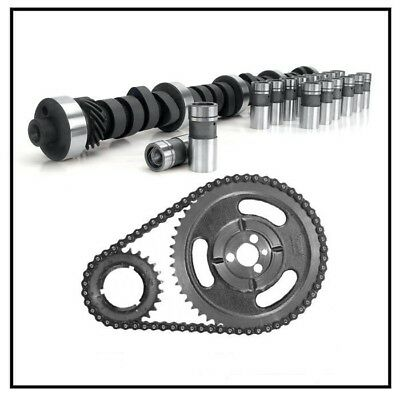 Ford 351c Cam Lifters Kit Street Race Mustang 219/219 Valve Springs Comp Timing