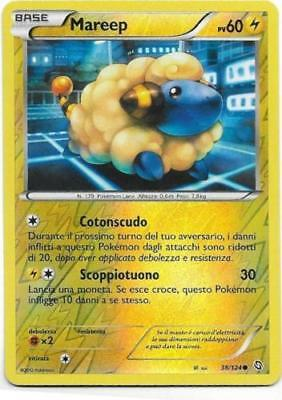 Pokemon Mareep 38/124 Dragons Exalted Comune Reverse Holo The Real_deal Shop