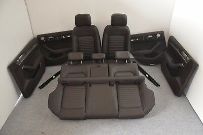 oem vw passat tsi b8 2015 rhd interior leather seats door cards without air bag