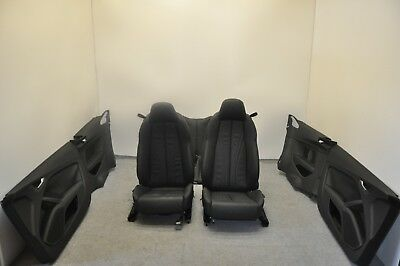 oem/genuine audi tt 8s 2015 black leather seats without air bag