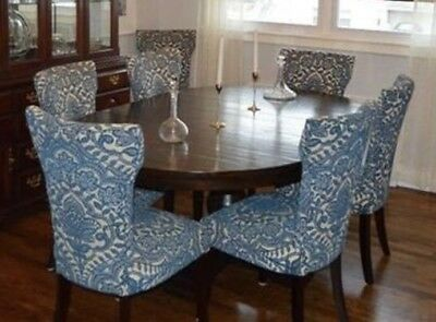 Pottery Barn Dining Table And 7 Pier One Dining Chairs - Gorgeous Set!!!
