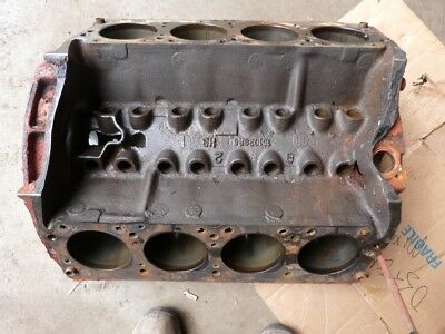 International Harvester 345 V8 Cylinder Block Engine Motor Palmer Marine .060""