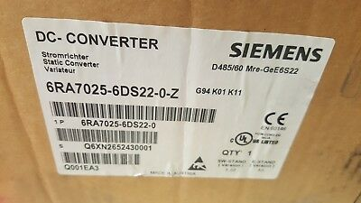 Siemens 6ra7025-6ds22 Simoreg Dc-master For Dc Drive Fast Shipping 6ra70256ds22