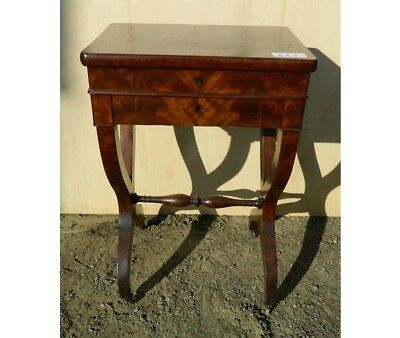 Small (rare) Work Table Carlo X,  Worked In Wick,