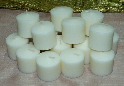 Votive Candles 10 Hour White Unscented~6, 12, 24, 36, 48, 60, 72, 84, Or 108-(d)