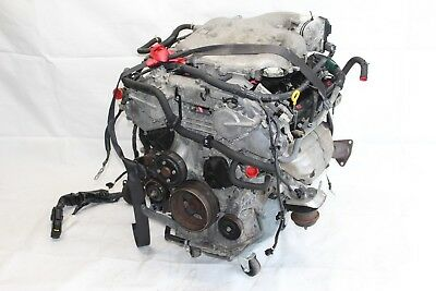 2003 Infiniti G35 Coupe #105 Engine Motor Block Manual 6-sp Assembly Vq35 108k