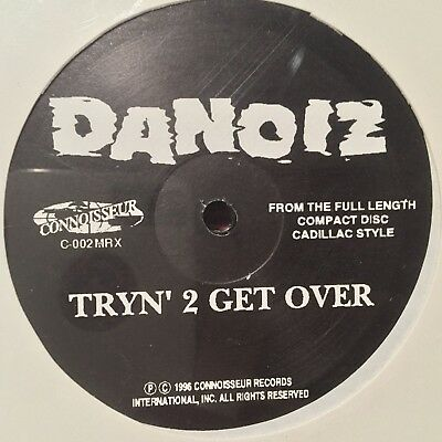 Danoiz Tryn 2 Get Over Sealed Gangsta G-funk G-rap Super Rare Private