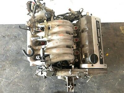 96 97 98 99 Infiniti I30 Oem Engine Motor Assembly Long Block