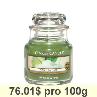 Yankee Candle Classic Housewarmer Small, Vanilla Lime, Scented Candle Room Scent