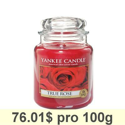 Yankee Candle Classic Housewarmer Small, True Rose, Scented Candle, Room Scented