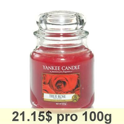 Yankee Candle Classic Housewarmer Medium, True Rose, Scented Candle, Room, Scent