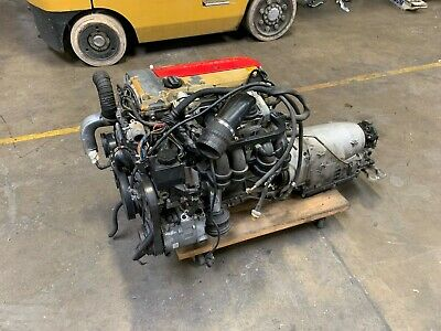 98-00 Mercedes Slk230 C230 2.3l Engine Motor Assembly Complete With Transmission