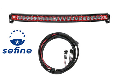 """Rigid Industries Radiance + Curved 40"""" Red Back-light Trigger Harness 34002"""