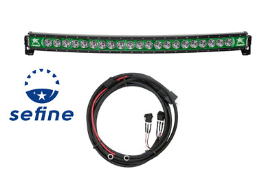 """Rigid Industries Radiance+ Curved 40"""" Green Back-light Trigger Harness 34003"""