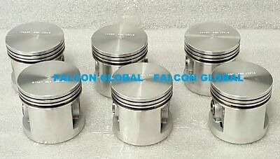 Chevy 216ci 216 Pistons 1941-53 Set/6 New In Box Car Truck
