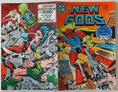 New Gods Book 2 Cover Jack Kirby Original Hand Color Production Art Signed Coa