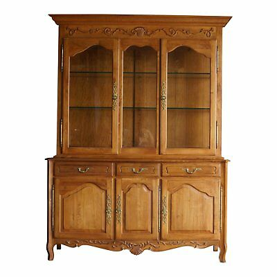 Hutch ~ China Cabinet ~country French Hutch ~ Legacy China Hutch By Ethan Allen