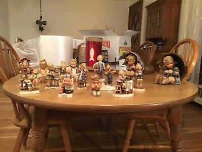 Vintage Hummel/goebel 17 Piece  Set (used But In Very Good Condition)