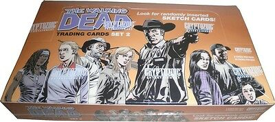 2013 Walking Dead Comic Series 2 Factory Sealed 12-box Hobby Case